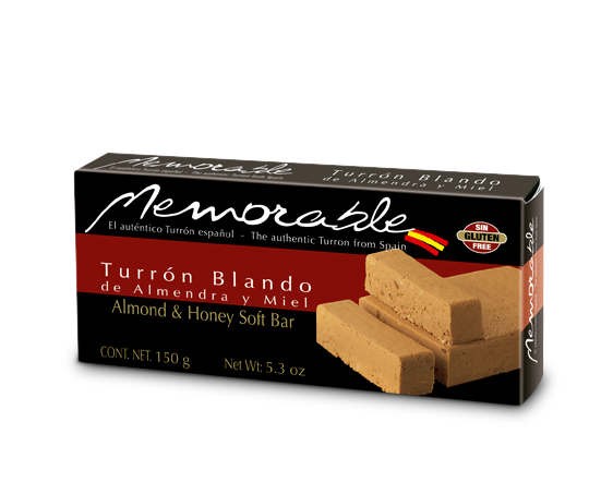 Turron Blando Memorable de 150 Gramos
